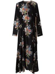 платье макси с цветочным узором Nº21