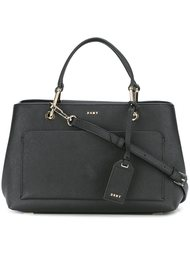 сумка-тоут с карманом спереди DKNY