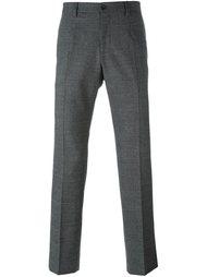 строгие брюки прямого кроя Dolce & Gabbana