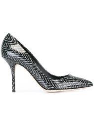 туфли в елочку  Dolce & Gabbana