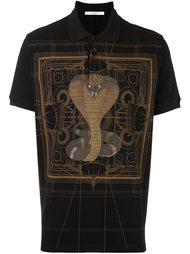 футболка-поло с принтом кобры Givenchy
