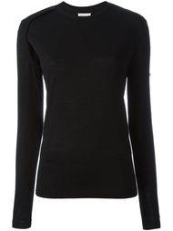 свитер с вырезной деталью Maison Margiela