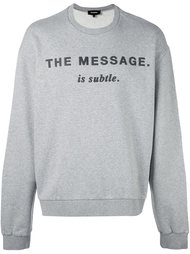толстовка 'The message' Diesel