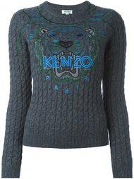 вязаный свитер 'Tiger'  Kenzo