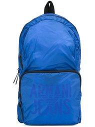 рюкзак с принтом-логотипом Armani Jeans