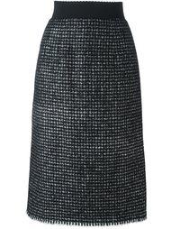 юбка миди из букле Dolce & Gabbana