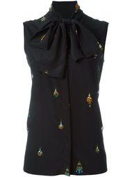 блузка с бантом Victoria Beckham