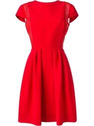 плиссированное платье  Giorgio Armani