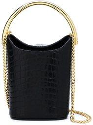 сумка на плечо с эффектом крокодиловой кожи Stella McCartney