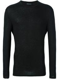 свитер с круглым вырезом   Neil Barrett