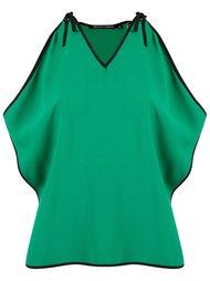 v-neck panelled blouse Reinaldo Lourenço