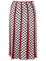 printed midi skirt Reinaldo Lourenço