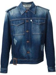 джинсовая куртка с поясом Off-White