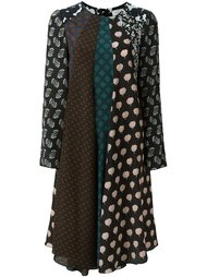 платье с панельным дизайном  Lanvin