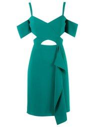 cold shoulder dress Reinaldo Lourenço