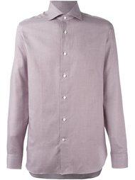рубашка с мелким принтом Ermenegildo Zegna