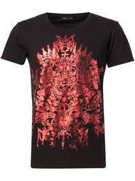 футболка-поло с принтом  Balmain