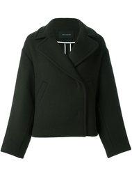 укороченное двубортное пальто Cédric Charlier
