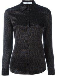 рубашка с принтом логотипа Givenchy