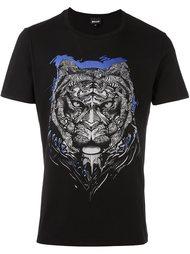 футболка с принтом тигра Just Cavalli