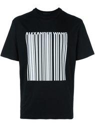 футболка с принтом логотипа  Alexander Wang