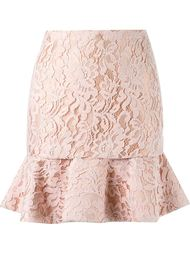 high waist lace skirt Martha Medeiros