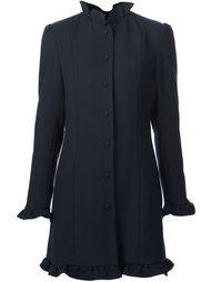 пальто с рюшами J.W.Anderson