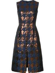 платье в ломаную клетку Martin Grant