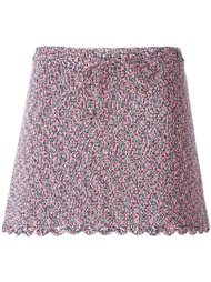 трикотажная мини юбка Chanel Vintage