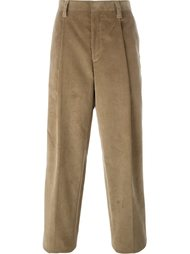 брюки с петлями для ремня E. Tautz