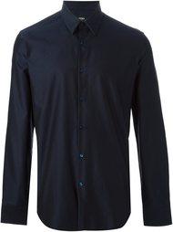 рубашка с геометрическим принтом Fendi