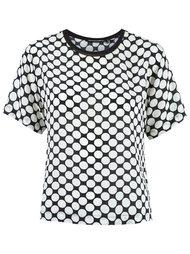 polka dot blouse Reinaldo Lourenço
