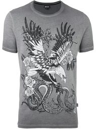 футболка с принтом орла Just Cavalli
