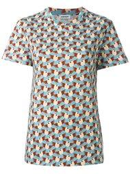 футболка с принтом птиц  Au Jour Le Jour