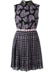 платье мини с цветочным принтом  Giamba