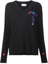 свитер c V-образным вырезом  Tanya Taylor