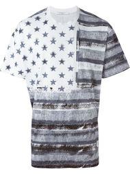 футболка с комбинированным принтом  Givenchy