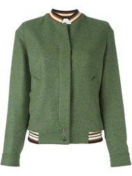 куртка-бомбер с вышивкой Marco De Vincenzo