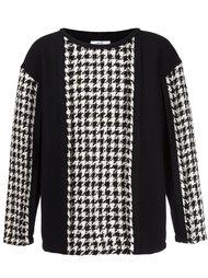свитер с панельным дизайном  Aganovich