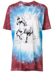 футболка с принтом лошади Baja East