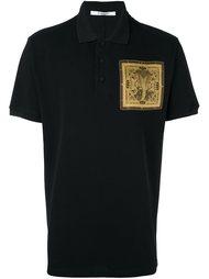 рубашка-поло с принтом кобры Givenchy