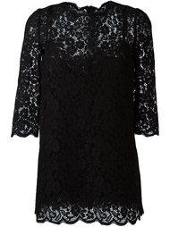 кружевое платье  Dolce & Gabbana