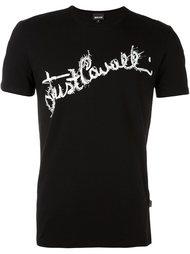 футболка кроя слим Just Cavalli