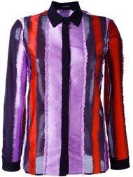 рубашка в полоску Versace