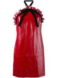 мини-платье с вырезом-халтер Philosophy Di Lorenzo Serafini
