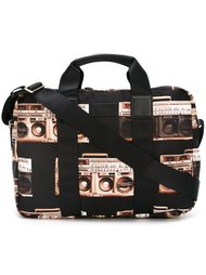 портфель с принтом 'Boom Box' Paul Smith