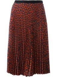 плиссированная юбка с принтом сердец Ps By Paul Smith