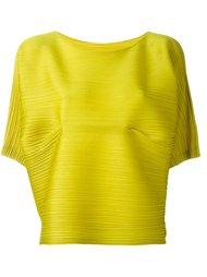 объемная юбка со складками Pleats Please By Issey Miyake
