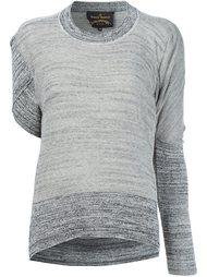 вязаная блузка асимметричного кроя  Vivienne Westwood