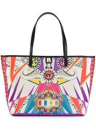 сумка-тоут с абстрактным принтом Etro